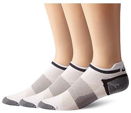 ASICS Quick Lyte Low Cut Sock (paquete de 3 pares) Blanco, grande ...
