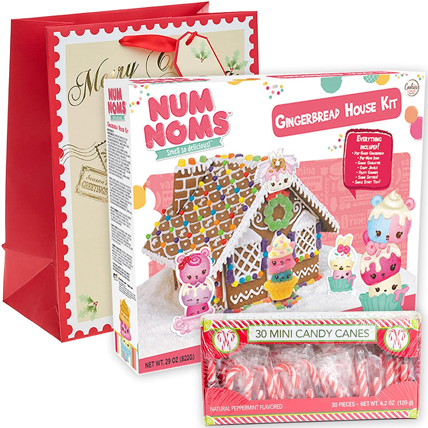 Amazon.com : My Little Pony Gingerbread House Kit Pre-baked + Pack ...