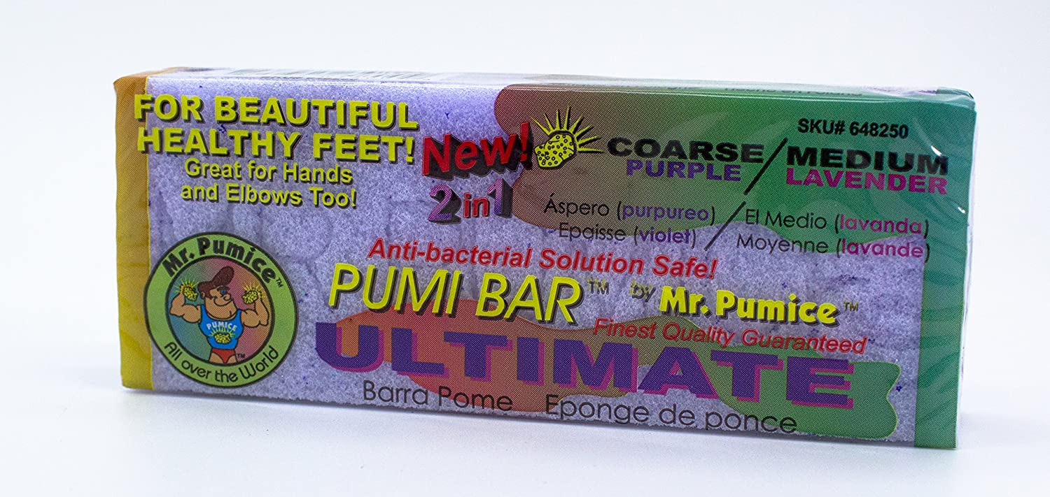 Mr. Pumice Set Of 8, Pumi Bar Coarse/Medium 2 In 1 NA