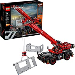LEGO Technic Rough Terrain Crane 42082 Building Kit (4056 Piece)
