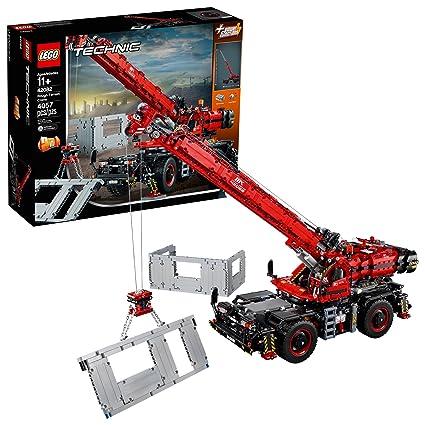 Lego Technictm Rough Terrain Crane 42082 Building Toy Building