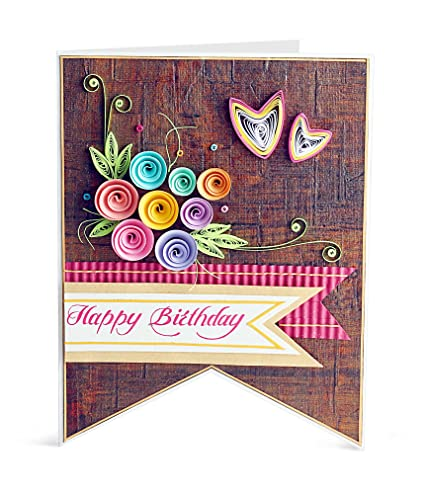 Handcrafted emotions handmade birthday greeting card amazon handcrafted emotions handmade birthday greeting card m4hsunfo