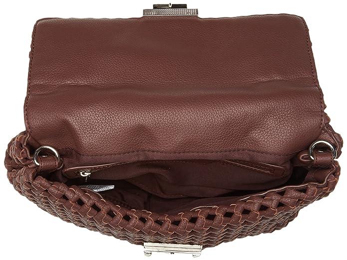 0f22b2a48 Silvian Heach - Rovasenda, Bolsos de mano Mujer, Marrone (Brown Wood),  32x24x13 cm (W x H L): Amazon.es: Zapatos y complementos