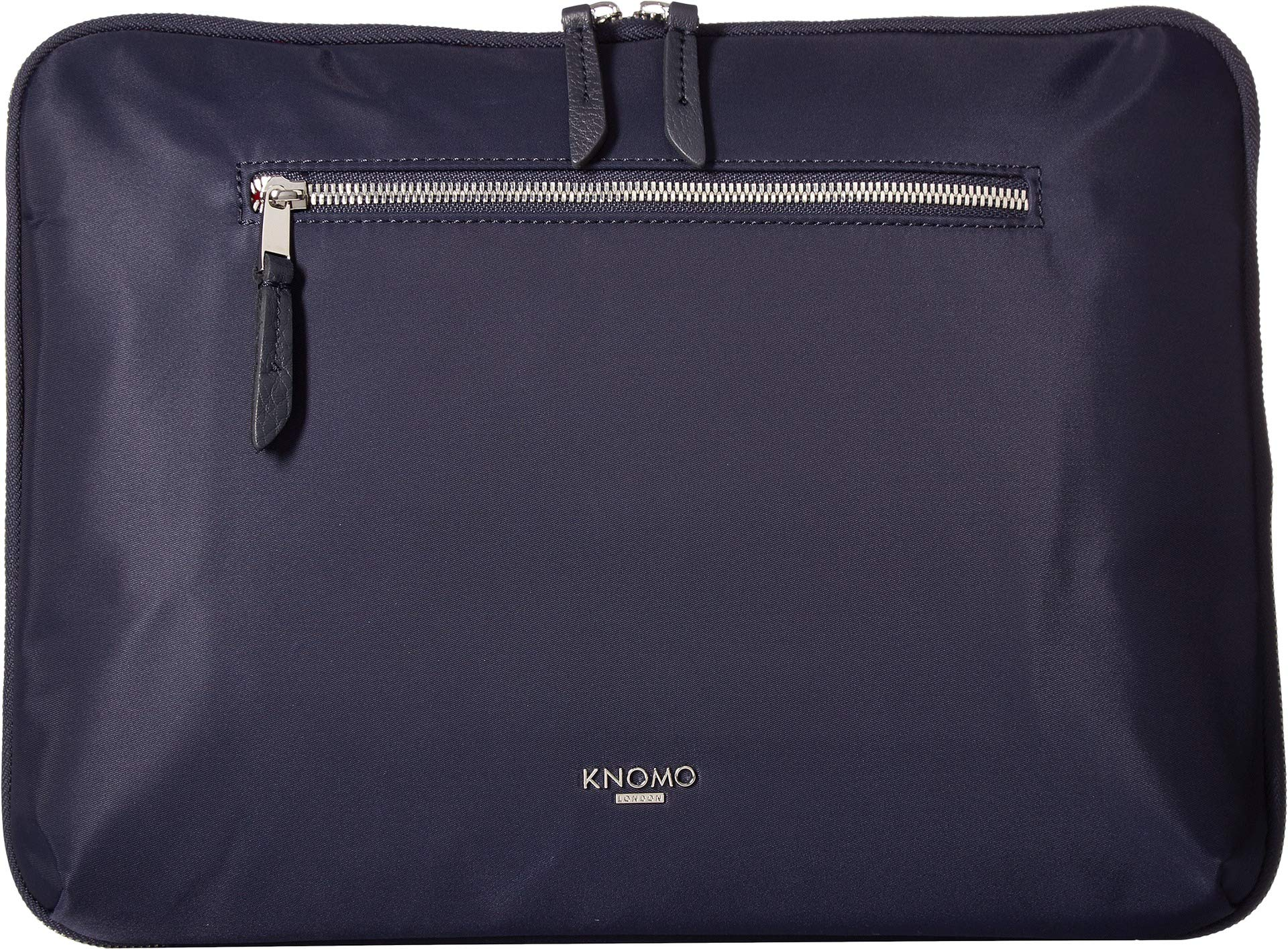 KNOMO London Women's Mayfair Knomad 13'' Tech Organiser Dark Navy One Size by Knomo