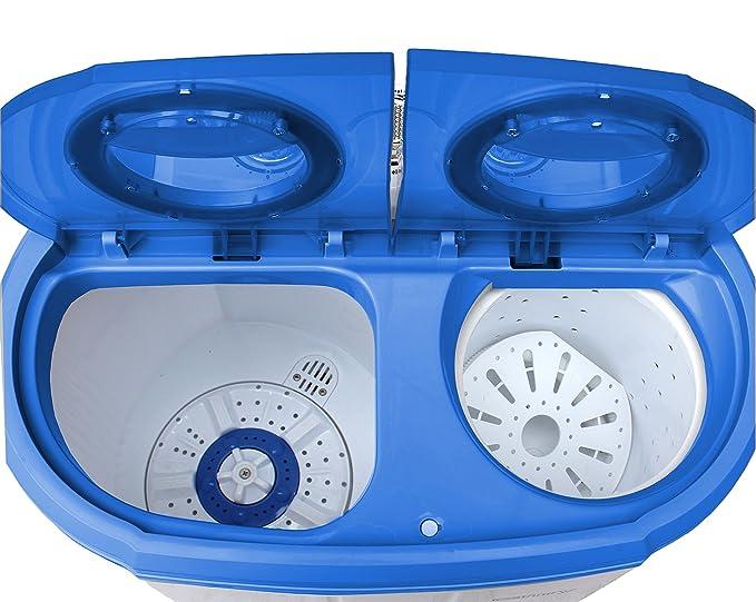 In mini waschmaschine waschautomat camping toploader mit
