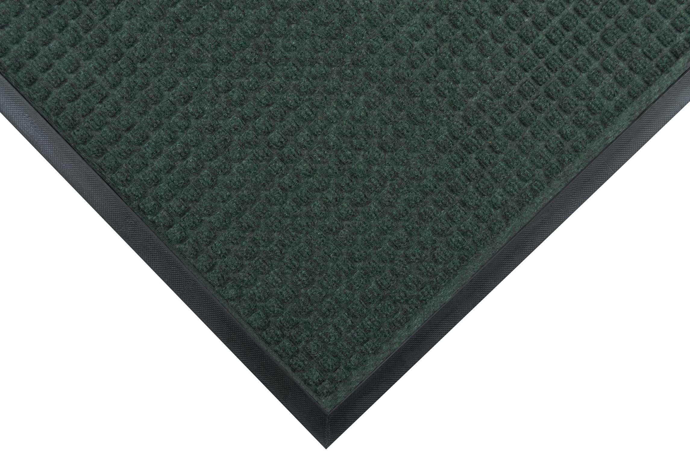 Notrax 166 Guzzler Entrance Mat, for Lobbies and Entranceways, 4' Width x 10' Length x 1/4'' Thickness, Hunter Green