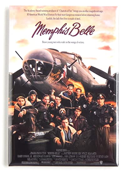 Memphis Belle Movie Poster Metal Sign Reproduction