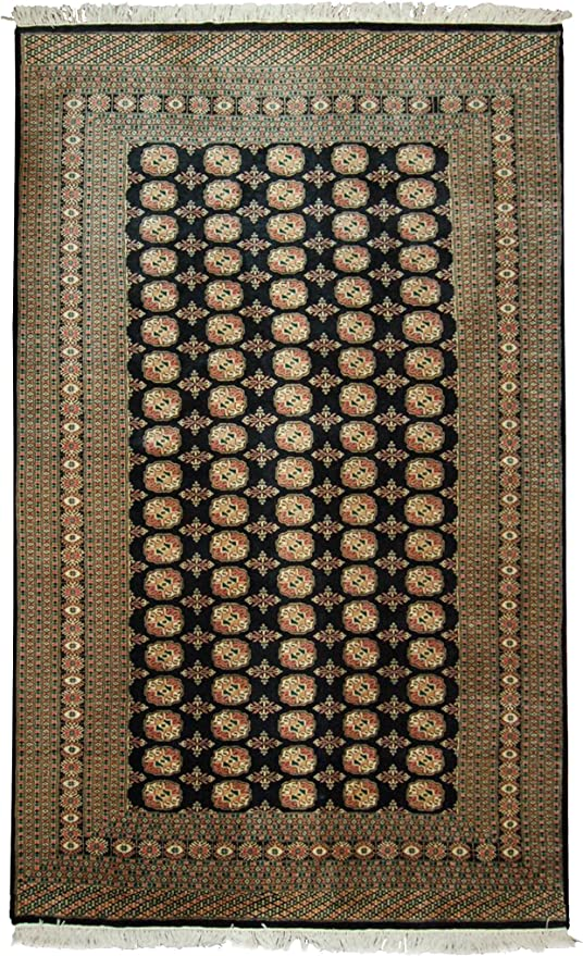 Amazon Com New Hand Knotted Himalaya Rug Woven With New Zealand Worsted Wool 5 X 8 Handmade Wool Area Rugs In Modern Floral Design Multi Color Will Match Any Furniture In Your Home
