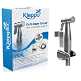 Amazon Price History for:Kleppo Cloth Diaper Toilet Sprayer Kit Bundle with Brass Sprayer Head, Metal Hose, (7/8-Inch) T-Valve and Mounting Clip Attachment Adapter