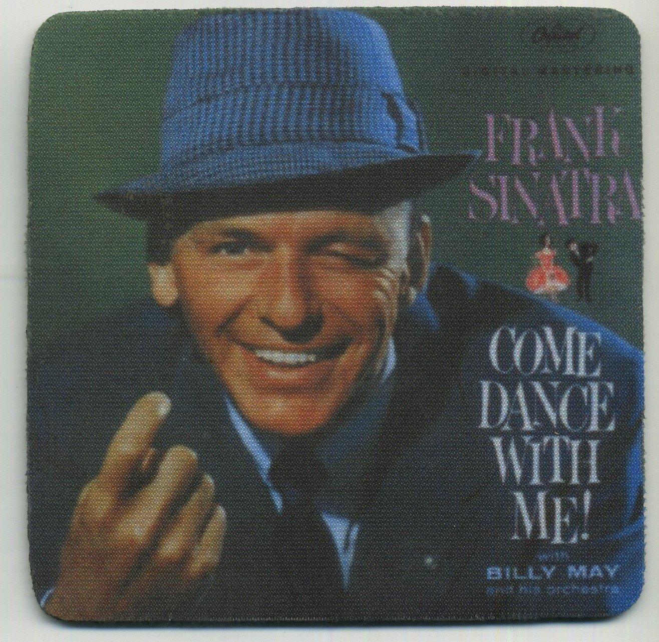 Frank Sinatra Come Dance with Me - Album Coaster Set of 4 -