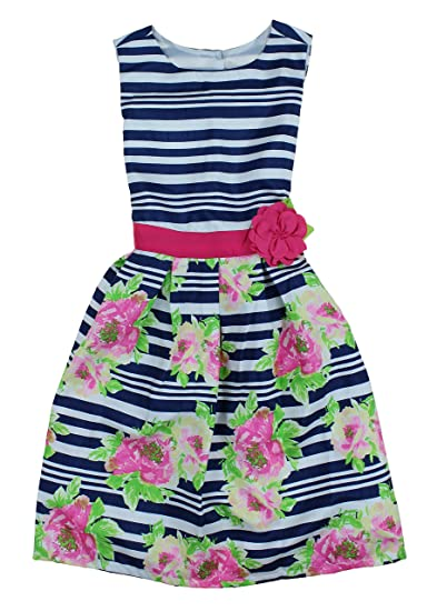 4588503e6bf Amazon.com  Jona Michelle Girls Semi Formal Special Occasion Holiday  Colorful Spring Dresses (10
