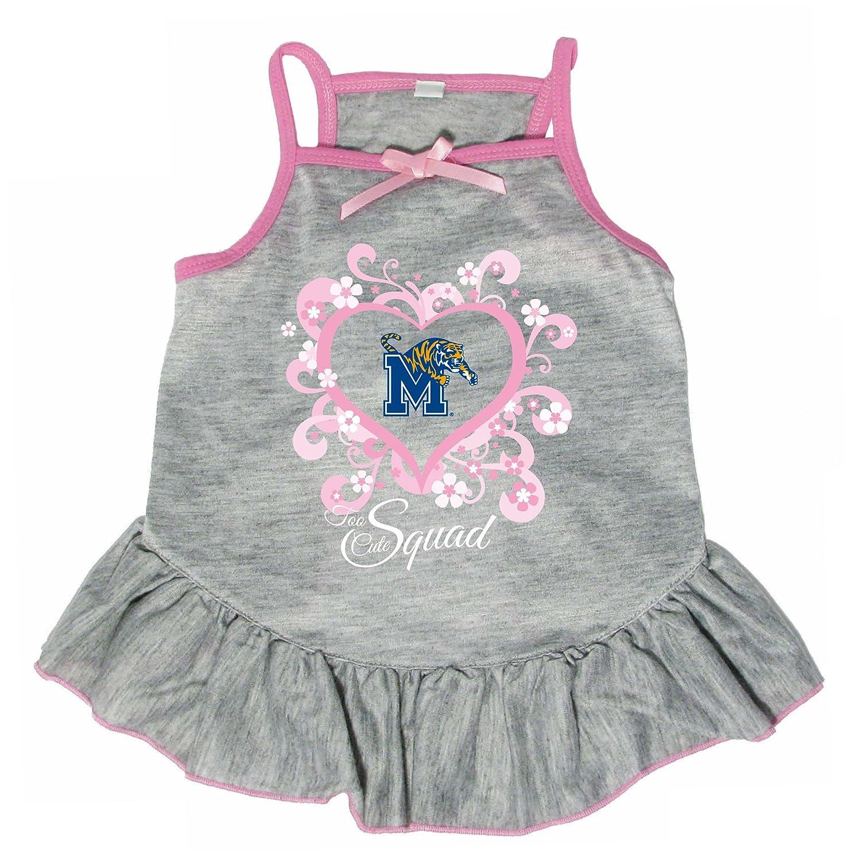 Hunter 4239-42-3100 NCAA Memphis Too Cute Pet Dress, X-Large
