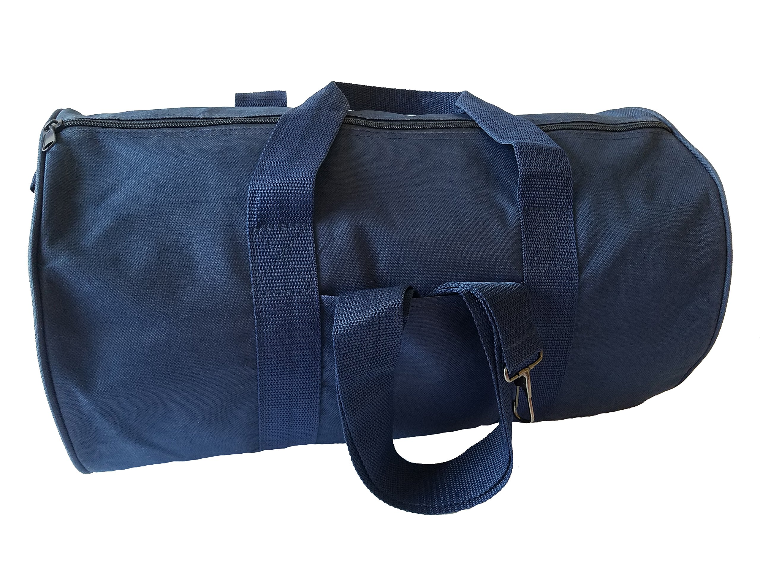 ImpecGear Round Duffel Sports Bags, Travel Gym Fitness Bag. (Navy) by ImpecGear (Image #3)