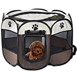 MiLuck Pet Portable Foldable Playpen, Exercise