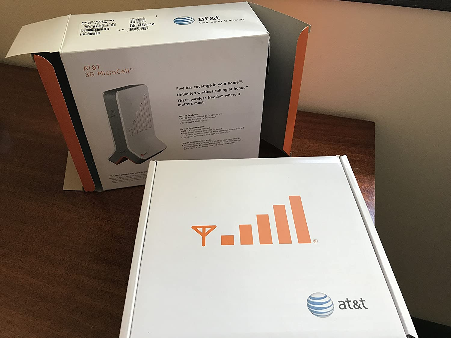 Att Microcell Wireless 3g Cell Signal Booster Tower At Amp T Home Phone Network Diagram Antenna Computers Accessories