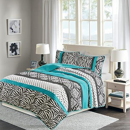 Amazon Com Sally Quilt Set Twin Xl Twin Bedding Set Teen Girl 2