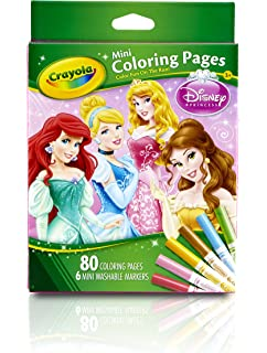 Superior Crayola Mini Coloring Pages   Disney Princess Toy
