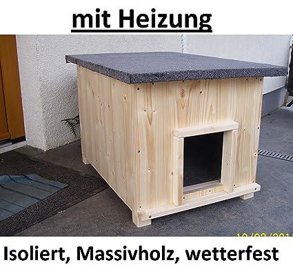 Gato Casa corta con calefacción gato cabaña de caja de lanzamiento Caseta impermeable aislado