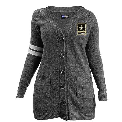 .com : Littlearth US Army Varsity Cardigan : Clothing