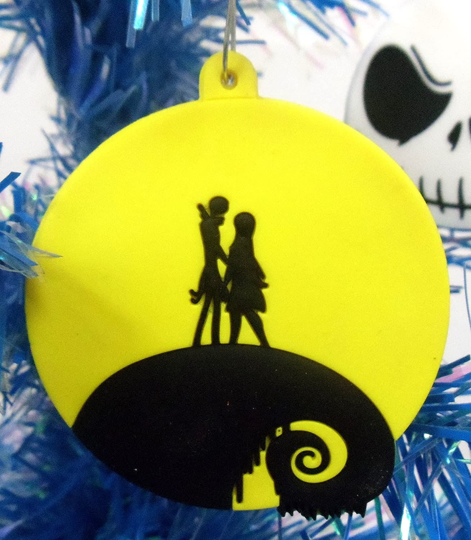 Amazon.com: Nightmare Before Christmas 8 Piece Christmas Tree ...
