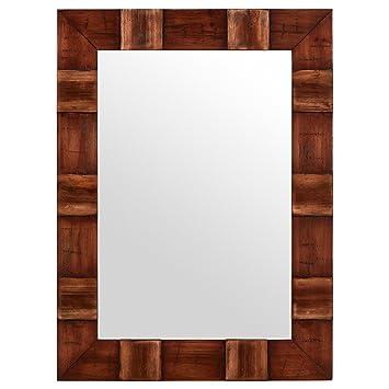 Amazon.com: Stone & Beam Rustic Wood Frame Mirror, 31.5\
