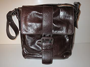 3f847587ff Tasche Braun Leder Bag Schultertasche Mokka Francesco Biasia Borsa Bolso Sac