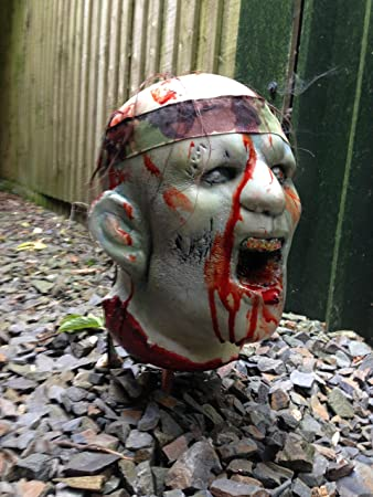 3D Zombie Archery Target Superb to Shoot! Splattered in Blood