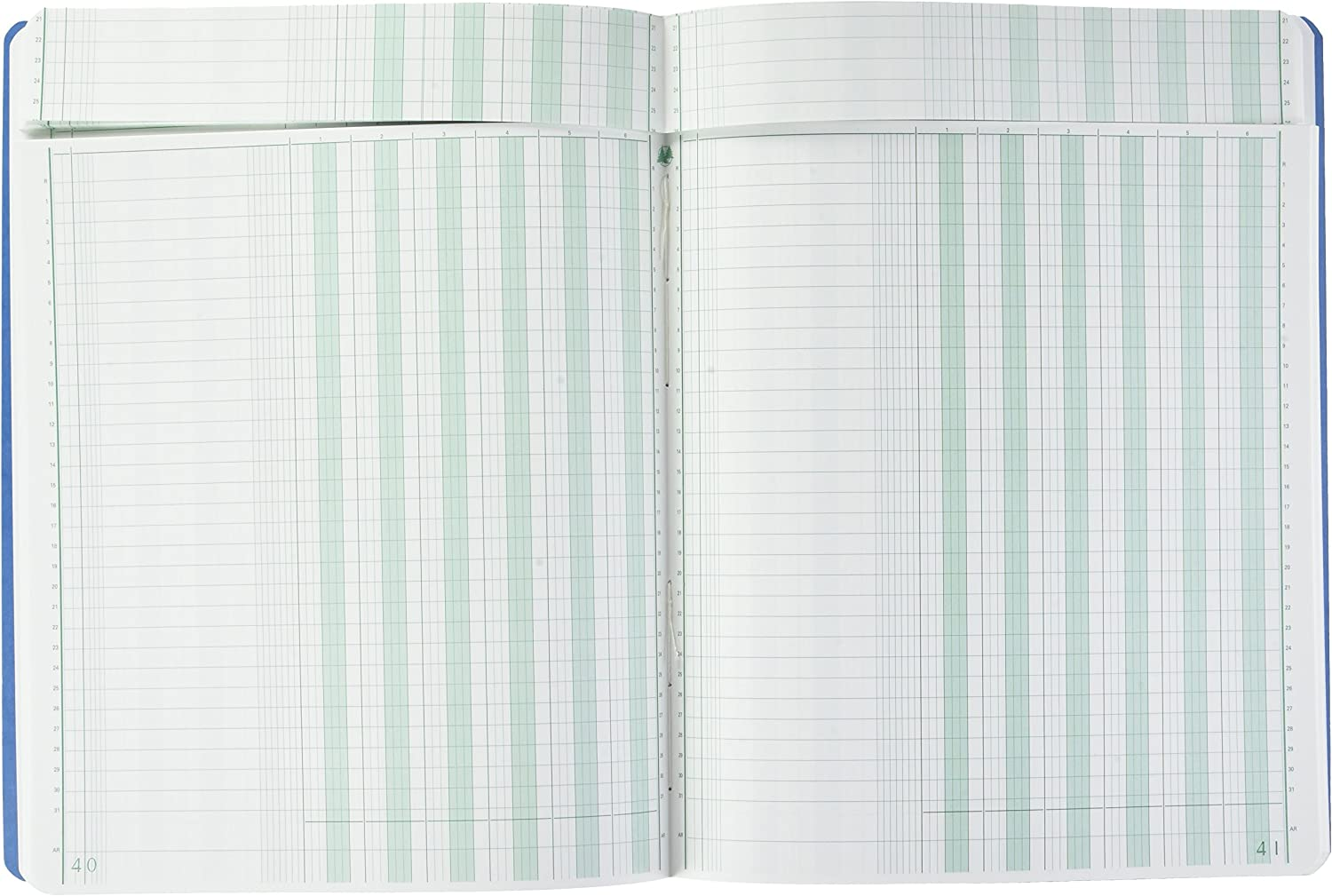 Exacompta Paresseuse Head 14060be Notebook with 80/Sheets Blue 32/x 25/cm