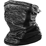 Cooling Neck Gaiter Drawstring, Breathable Fitness Face Cover Sun Dust Protection Lightweight Scarf Mask Summer Winter…