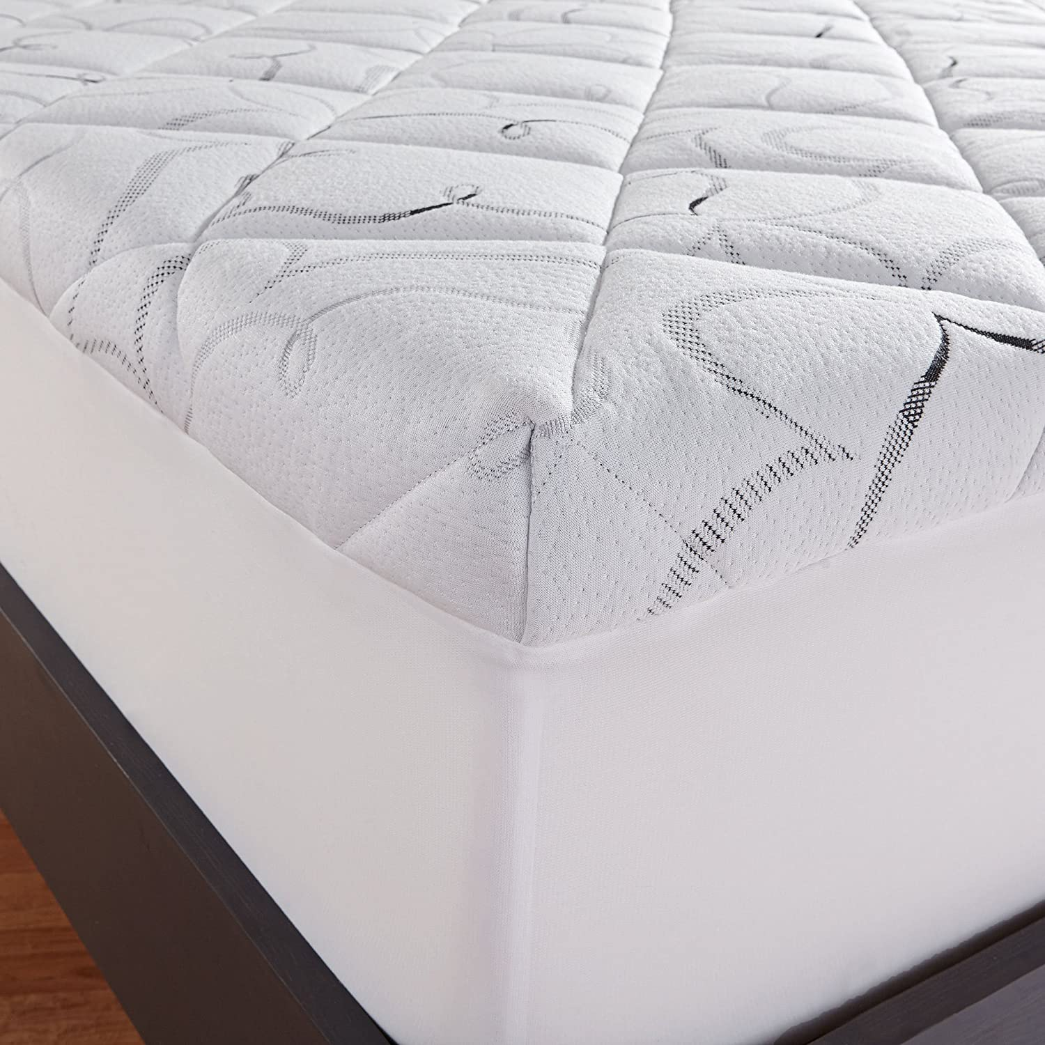 sleep innovations top year fiber amazon foam com usa made memory instant kitchen in with a mattress topper size pillow warranty and home dp queen the