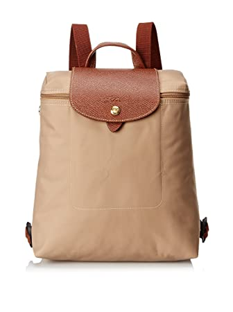 3d6fa8e43790 Amazon.com  Longchamp Le Pliage Ladies Medium Nylon Backpack ...