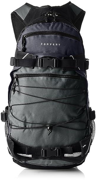 1ac28a9735dbc FORVERT Backpack Three Color Louis Grey 28 x 12 x 47 cm  Amazon.de ...