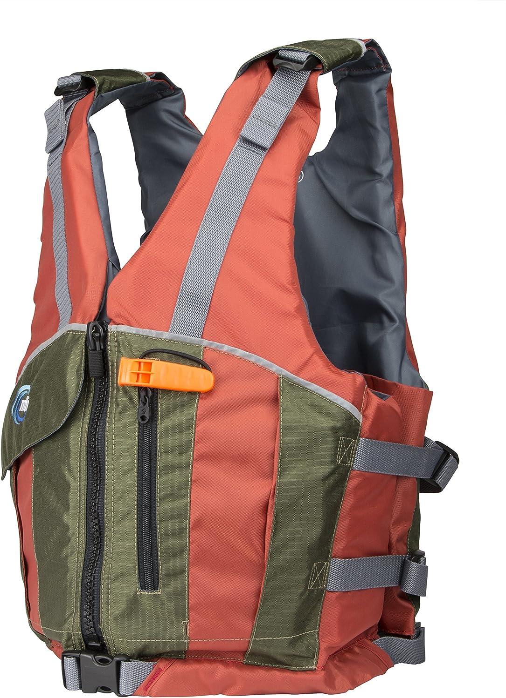 MTI Reflex Life Jacket 30-36 XS//SM Copper//Olive Drab