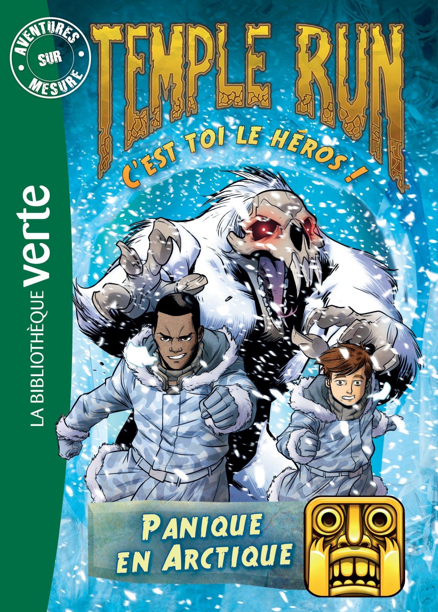 Temple Run 03 Panique En Arctique Temple Run 3 9782012317307 Amazon Com Books