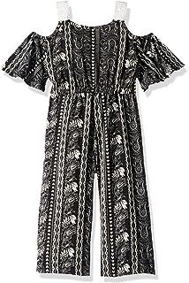 f19b97e23f8 Amazon.com  One Step Up Girls  Romper Maxi Dress  Clothing