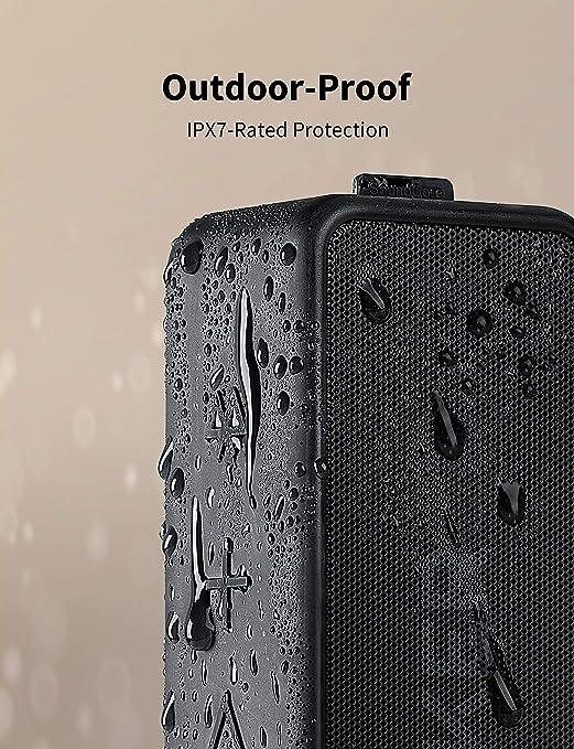 Altavoz inalámbrico Bluetooth Anker SoundCore 2, batería de 24 horas, protección contra el agua IPX7, graves enormes con dos controladores de graves: Amazon.es: Electrónica