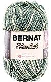 Bernat Blanket Yarn, 10.5 Ounce, Silver Steel, Single Ball