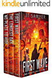 First Wave, A Zombie-Apocalypse Series Boxed Set: First Wave, The Longest Day, No Place to Hide by JT Sawyer