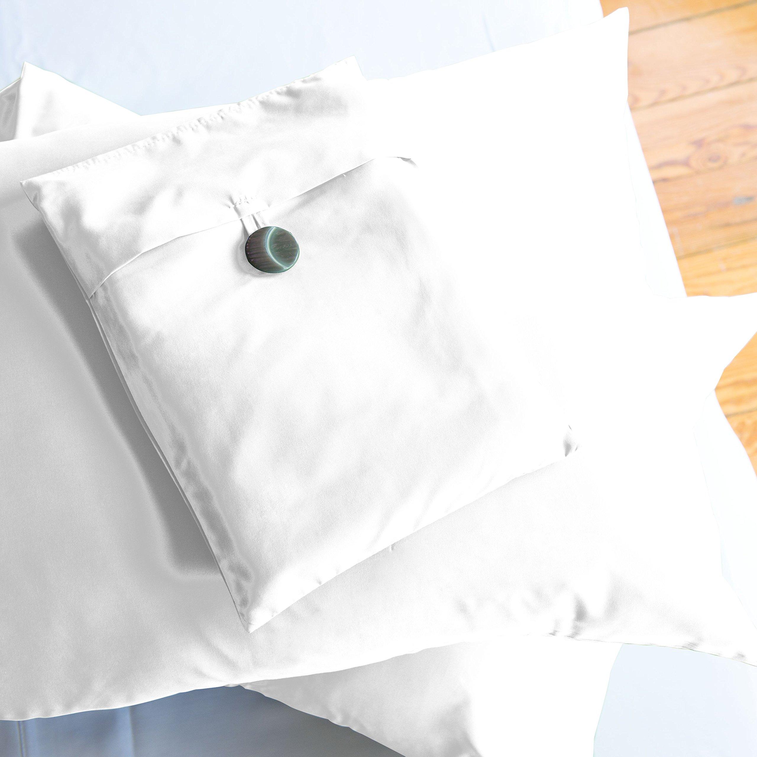 Sposh Microfiber Pillowcase Sets (White, Queen)