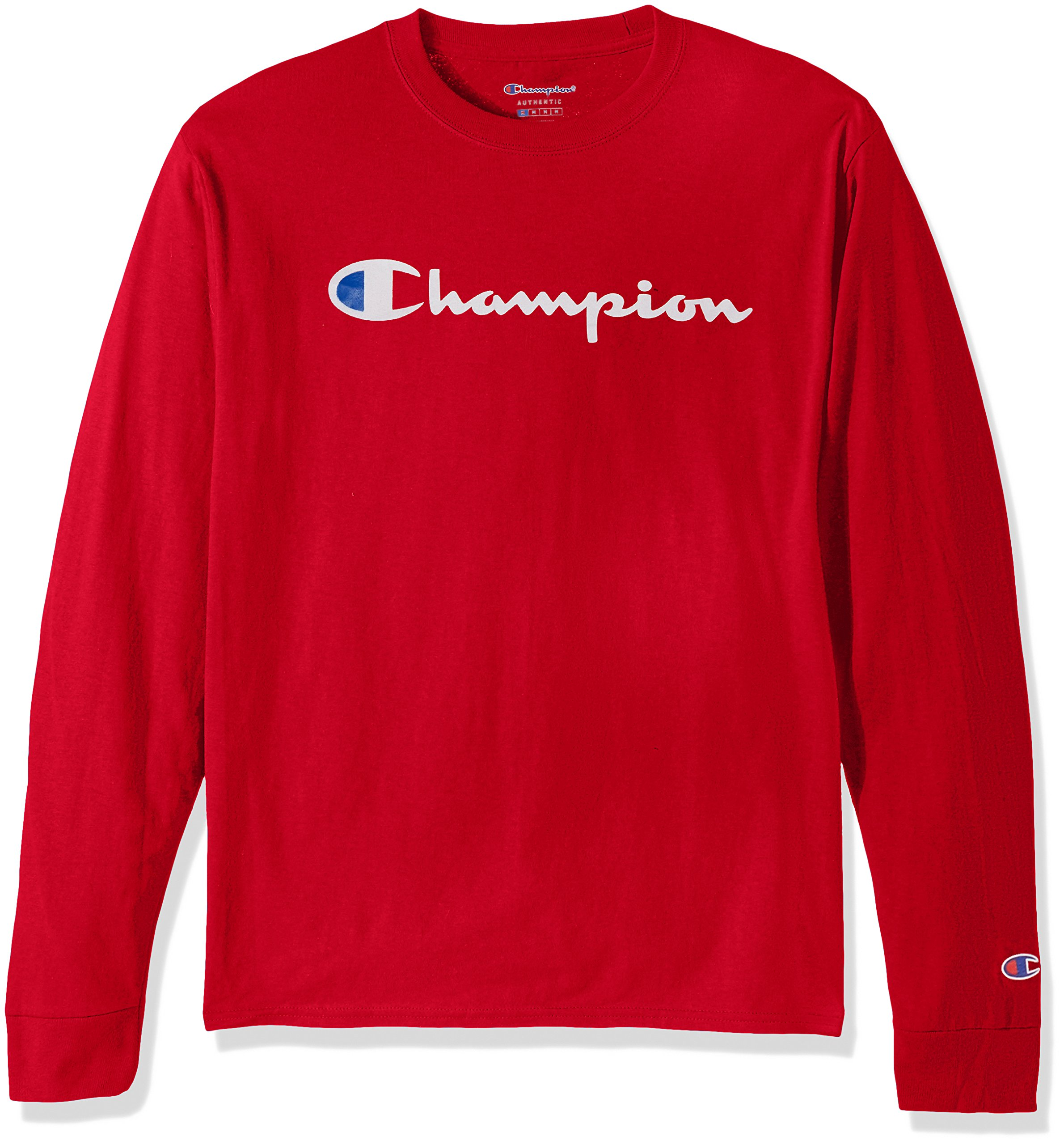 Champion LIFE Men's Cotton Long Sleeve Tee, Team