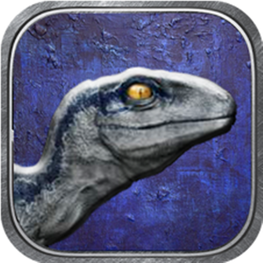 Jurassic Raptor Blue Trainer Baby Raptor Simulator