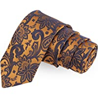 Peluche The Woodlot Copse Brown Colored Microfiber Necktie For Men