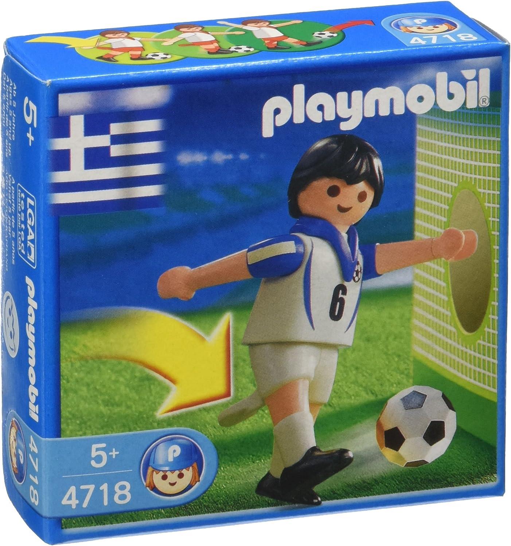 PLAYMOBIL 4718 Futbolista Equipo Nacional Griego: Amazon.es ...