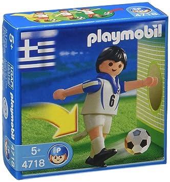Playmobil 4718 Futbolista equipo nacional griego  Amazon.es  Juguetes y  juegos e078c3f063f