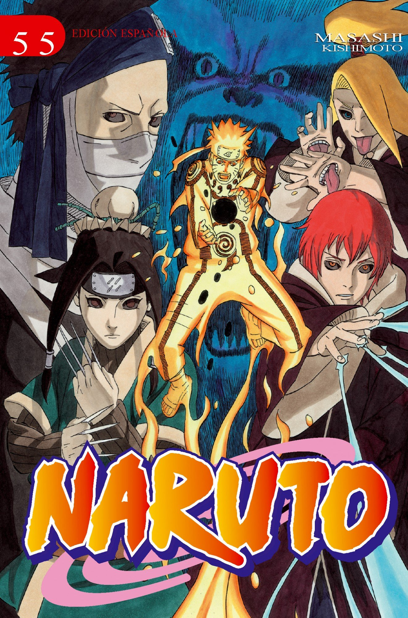 Amazon.com: Naruto 55 (Shonen Manga) (Spanish Edition ...