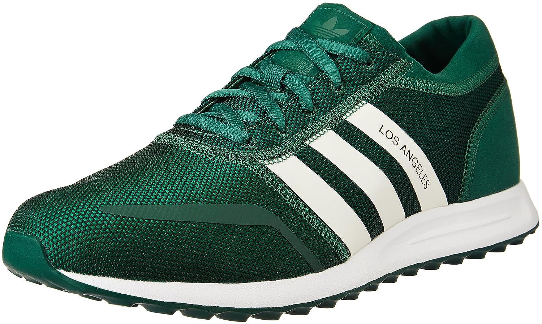 Adidas Los Angeles, Zapatillas para Hombre 42 EU|Verde (Tecfor/Ftwwht/Cgreen)