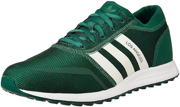 adidas Los Angeles Schuhe Herren grün m. weißen Streifen