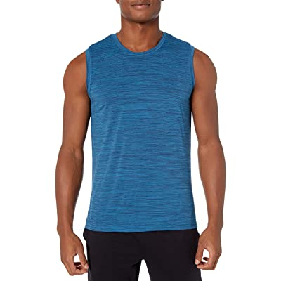 Brand - Peak Velocity Men's Novelty Jaquard Muscle Tee: Clothing