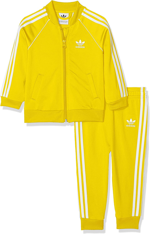 adidas - I SST - Survêtement - Mixte Enfant - Jaune (Amaril) - 6/9
