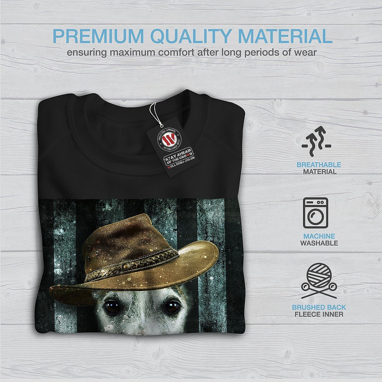 Funny Casual Design Wellcoda Greyhound Cute Funny Womens Long Sleeve T-shirt